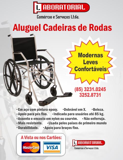 359397d15f42 Laboratorial - Aluguel de Cadeira de Rodas em Fortaleza, Ceará